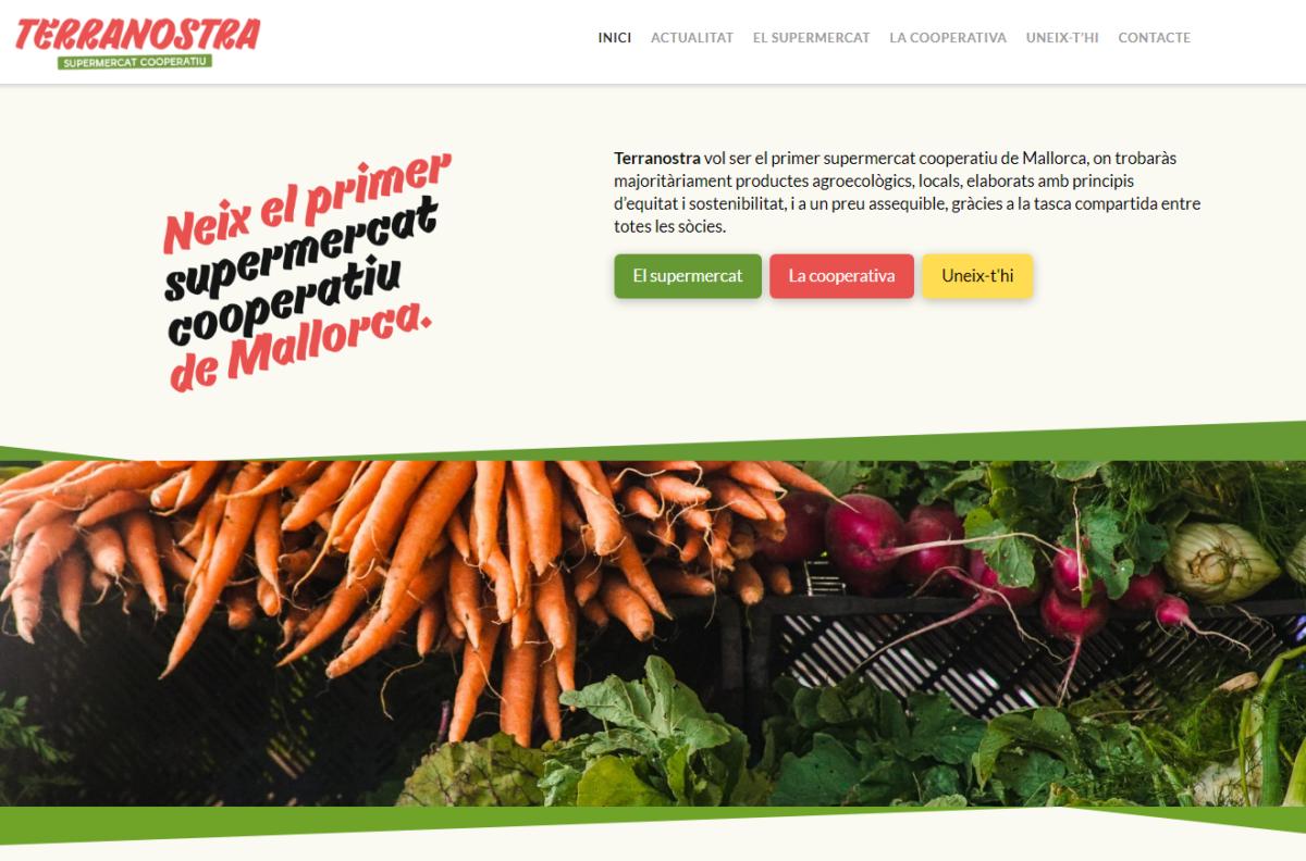 Pàgina web Terranostra